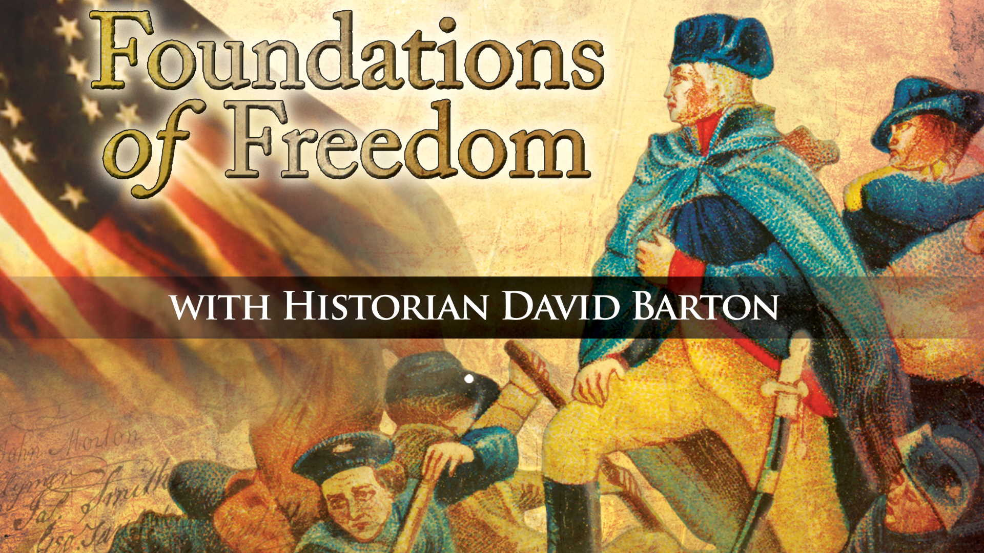 Foundations Of Freedom Ep 10. God and Government